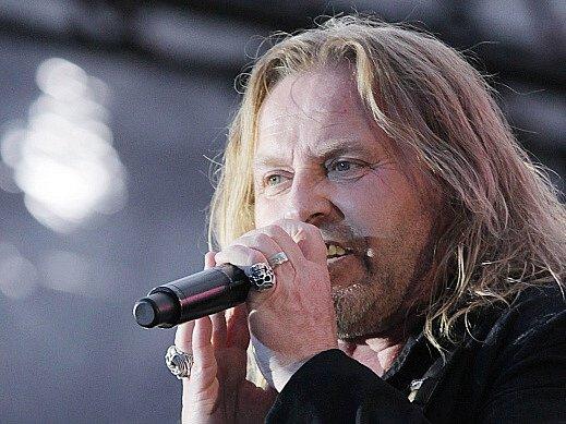 Josef Vojtek, koncert skupiny Kabát v Českých Budějovicích, 25. květen 2015.