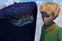 Záběr ze seriálu Malý princ.