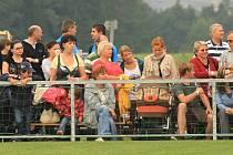 Minulý víkend se diváci bavili při fotbalových oslavách v Kamenném Újezdě, budou se fotbalem bavit i o tomto víkendu?
