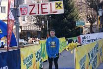 Jakub Janda z českobudějovického Sokola se umístil druhý na mezinárodním Silvestrovském běhu v Rakousku.