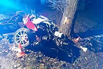 Tragická nehoda u Nových Hradů.