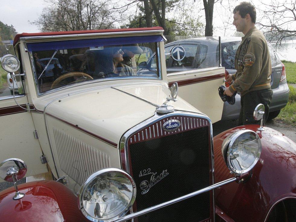 V sobotu si dali v autokempu Štilec u Českých Budějovic dostaveníčko motoroví veteráni.