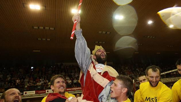 Jihostroj ve čtvrtém finálovém zápase otočil utkání a slaví další, již čtvrtý, titul