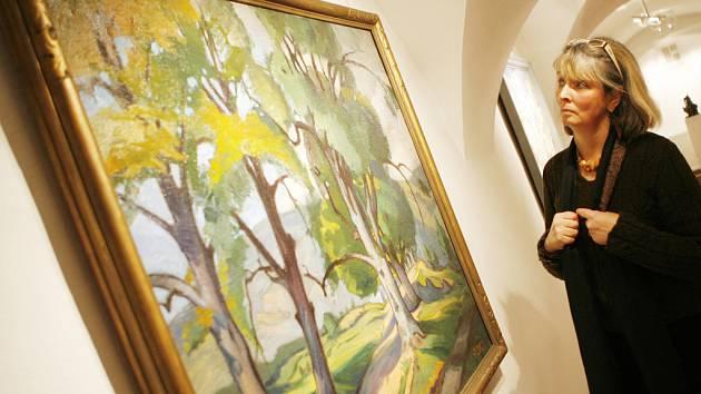Nejlepší práce slovenského výtvarného umění první poloviny 20. století mohou návštěvníci od včerejška zhlédnout ve Wortnerově domě  AJG.