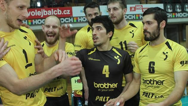 Volejbalové play off Jihostroj - Brno