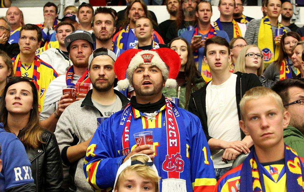 Hokejisté Motoru České Budějovice zahájili sezónu 2017/18 vítězstvím nad Slávií Praha 5:1.