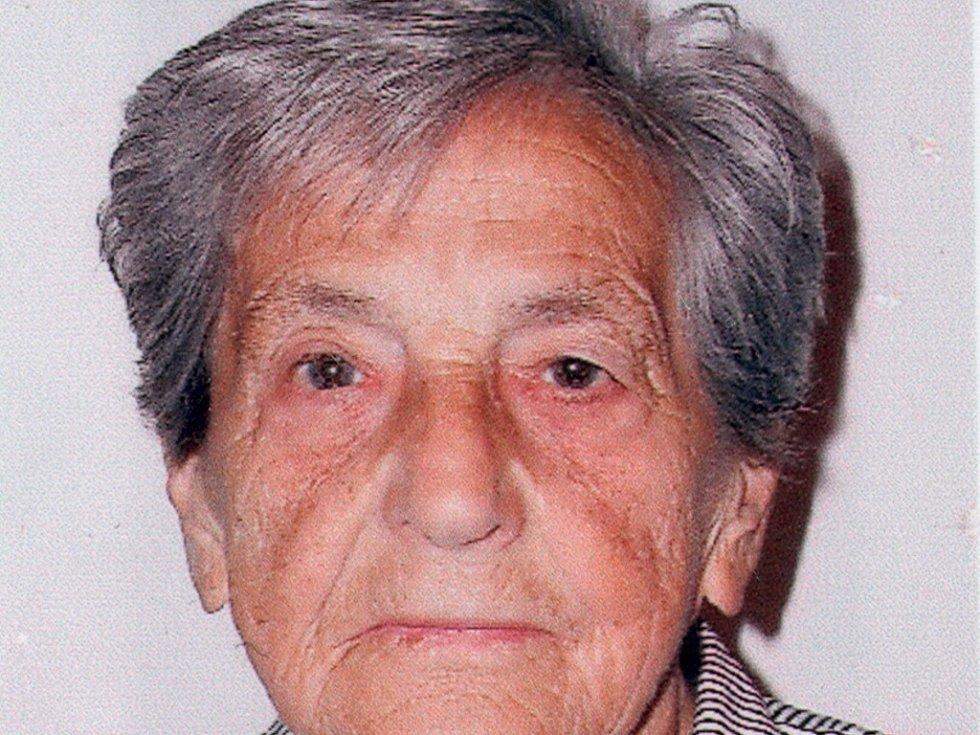 Pohřešovaná Marie Čurdová