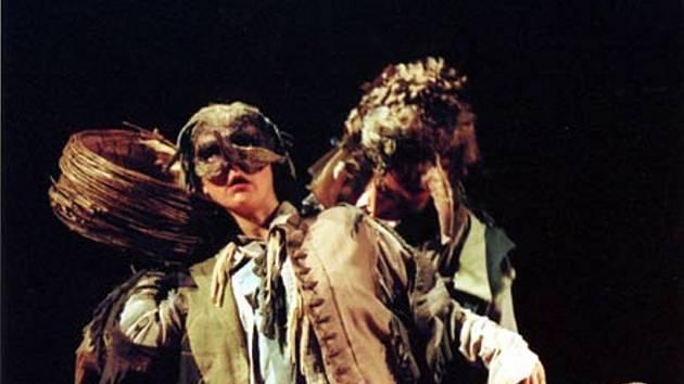 Snímek z představení Život v peří.