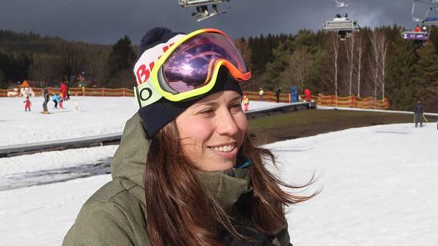 Eva Samková na Lipně