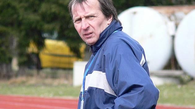 Robert Čepička (na snímku) vystřídal u kormidla Slavie ČB kamaráda Václava Hojdara.