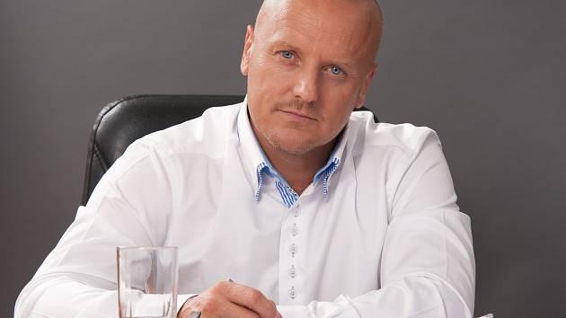 Předseda Jihočeské hospodářské komory Miroslav Dvořák.