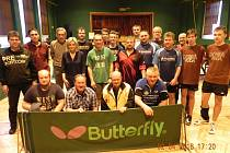Účastníci turnaje ve Štěpánovicích.