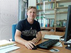 Ondřej Trojek je nejen novým ředitelem Salesiánského střediska mládeže v Českých Budějovicích, už brzo se z něj také stane tatínek.