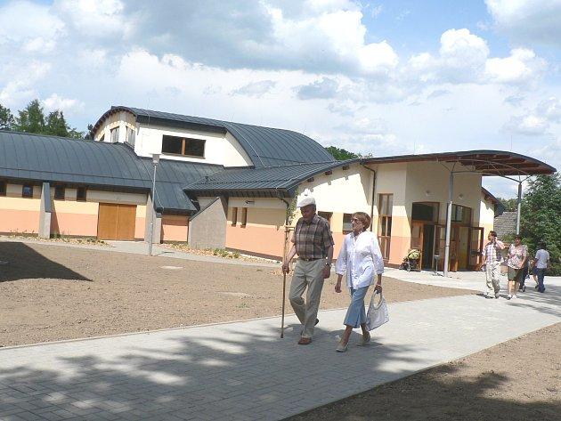 Dlouho očekávaná přístavba kulturního domu v Trhových Svinech.