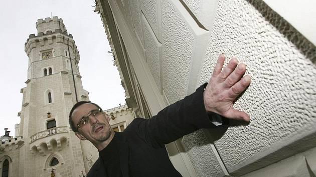 TADY SE STŘÍLET NEBUDE. Šéf jihočeských památkářů Petr Pavelec (na snímku) označil chování střelce za nemyslitelné.