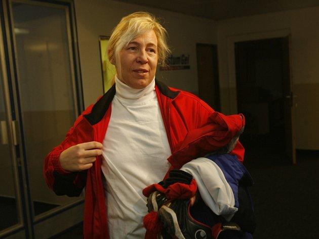 Helena Fuchsová se na svou misi v Č. Budějovicích těšila.