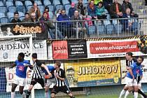 Jihočeské derby Dynamo ČB versus Táborsko 4:0. Ilustrační foto.