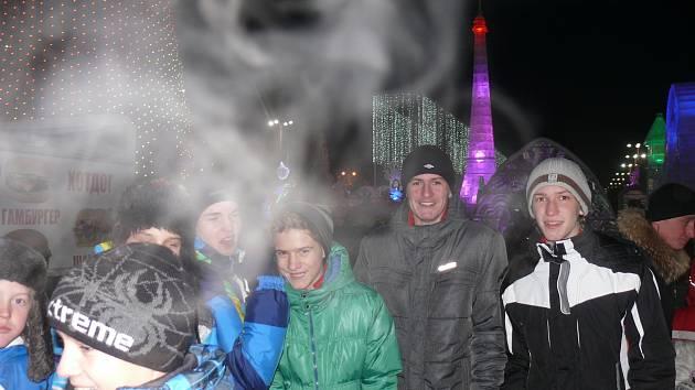 Jihočeši si prohlédli Jekatěrinburg, ledové město