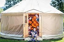 Mezi novinky letošní sezony na Lipně patří nové jurty v Camping Lipno Modřín.