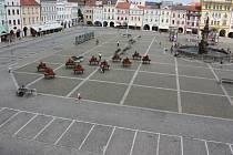 Takto by mohlo vypadat náměstí Přemysla Otakara II. bez aut.
