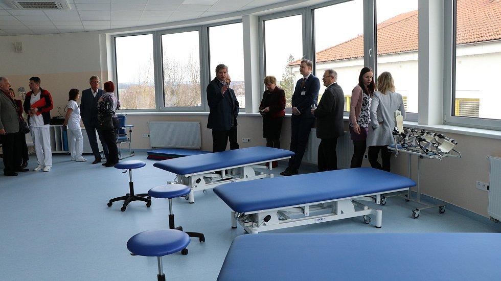 Nový transfuzní a rehabilitační pavilon v českobudějovické nemocnici.