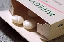 Potratové pilulky.
