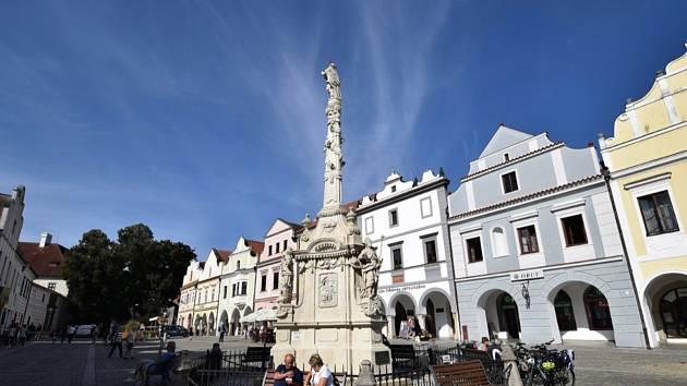 Pobyt Moniky Šavlové v Třeboni.