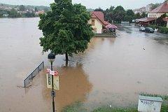 Týn nad Vltavou v pondělí 3. června 2013.