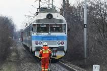 Problémy na trati zastavily i rychlík z Českých Budějovic do Prahy