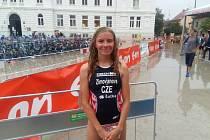 Mistryně České republiky ve sprint triatlonu Tereza Zimovjanová