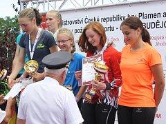 MISTROVSTVÍ. V Českých Budějovicích a Trocnově se uskutečnilo mládežnické mistrovství republiky v požárním sportu.