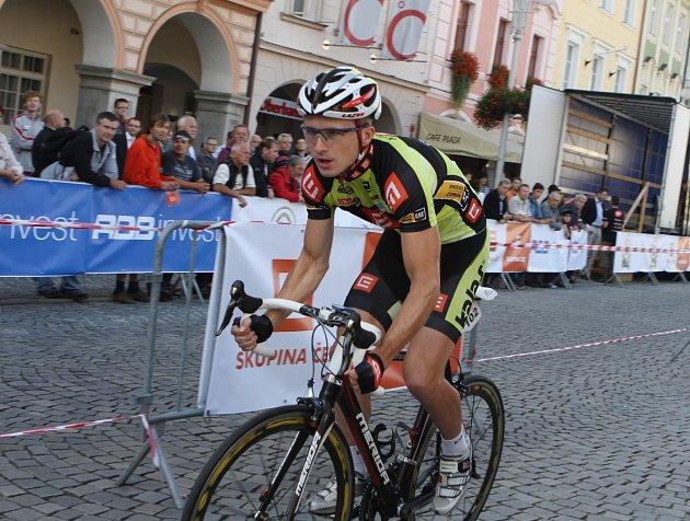 ZÁVOD. Cyklistický závod Okolo jižních Čech má za sebou první etapu z Třeboně do Nové Bystřice.