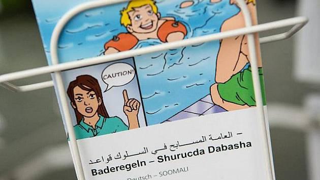 Osvěta pro arabsky mluvící hosty.