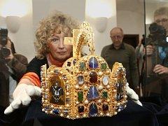 Kopie císařské koruny.
