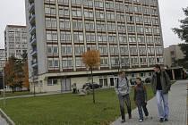 Vysokoškolské koleje v Českých Budějovicích.