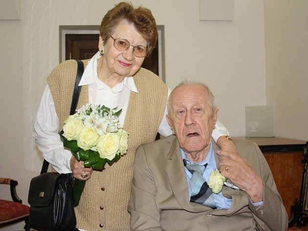 Manželé Růžena a Eugen Maříkovi.