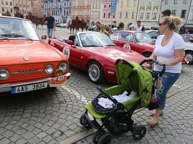 South Bohemia Classic na náměstí Přemysla Otakara II.