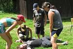 Letní tábory jsou plné her. Ilustrační foto.