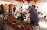 Výstava chryzantém na Žumberku