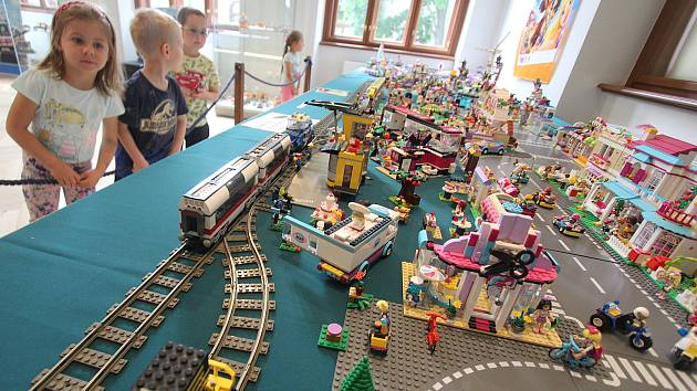 Výstava Lego v Jihočeském muzeu