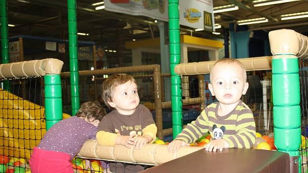 Děti si v budějovickém Hopsáriu užily odpoledne