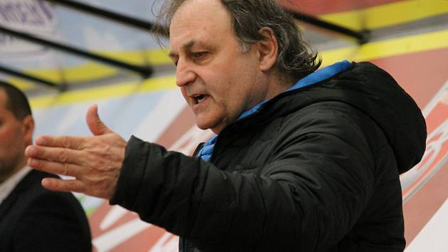 Zkušený českobudějovický kouč Milan Kupka.