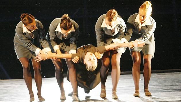 Balet Jihočeského divadla při Múzách na vodě.