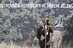 Národní myslivecké slavnosti v objektu zámku Ohrada v Hluboké nad Vltavou hostily 25. června mistrovství republiky ve vábení jelenů