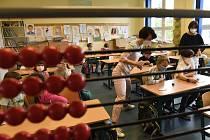 Testování dětí ve škole. Ilustrační foto.