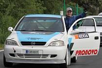 Václav Šejda na startu závodu v Kdyni.