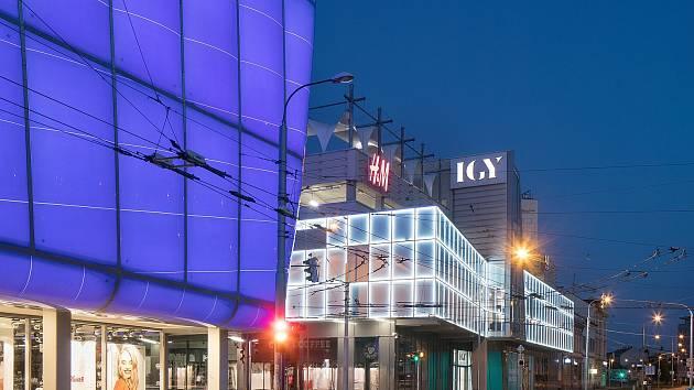 IGY Centrum v Českých Budějovicích.