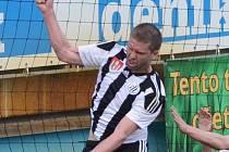 Richard Kalod dal v Třinci oba góly Dynama. Ve středu fotbalisty Dynama, Táborska i Písku čekají zápasy 2. kola Mol Cupu.