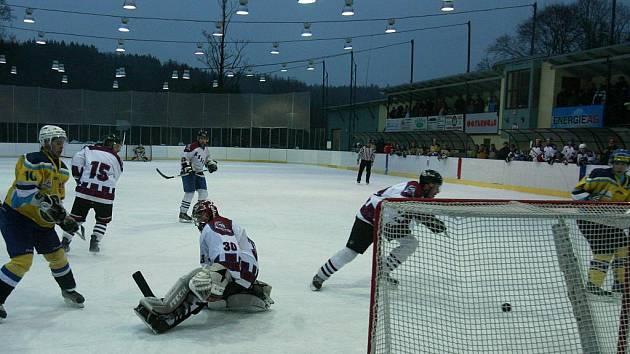Hokejisté Hluboké Knights se naposledy představili v Kuki aréně při loňském play off proti Veselí nad Lužnicí.