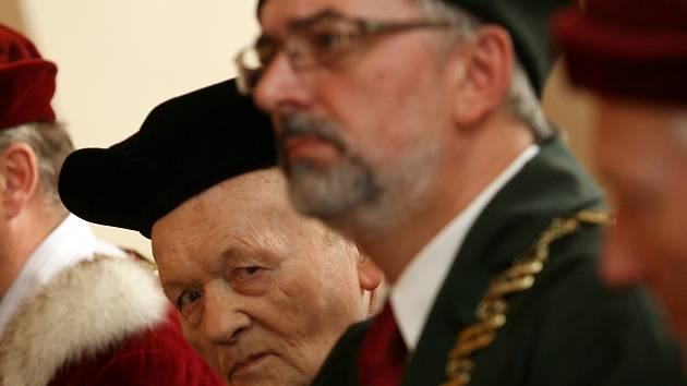 Antonín Holý a Libor Grubhoffer v roce 2009.